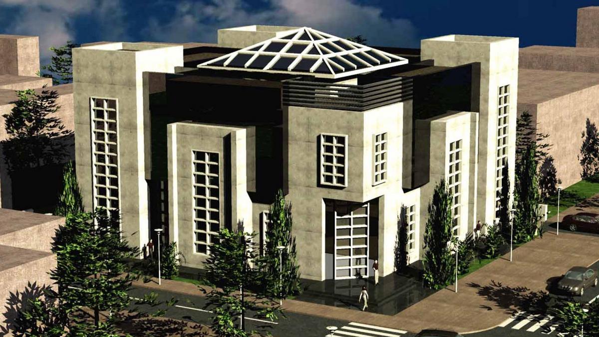 Административное здание 1 - 1