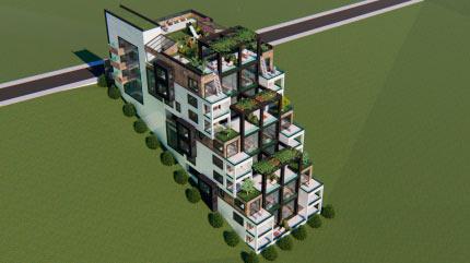 Жилой дом 8