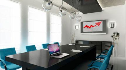Интерьер офисного помещения 1