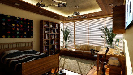 Интерьер квартиры 8
