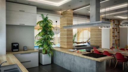 Интерьер индивидуального жилого дома 2