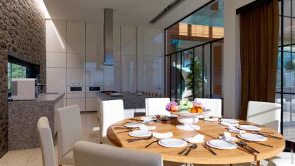 Интерьер индивидуального жилого дома 1
